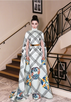 Fan Bingbing in Christopher Bu-1