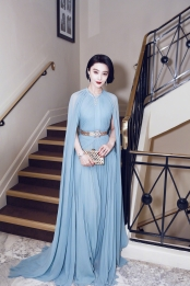 Fan BingBing in Elie Saab Spring 2017 Couture-1