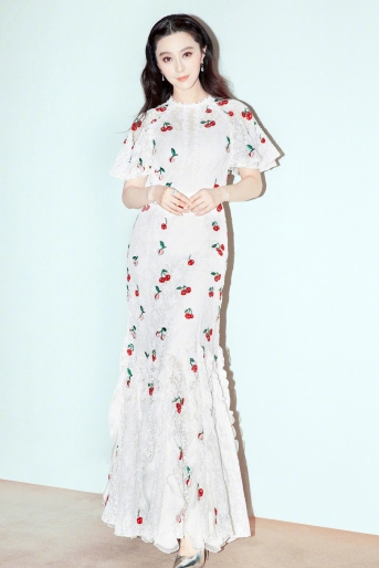 Fan Bingbing in Giambattista Valli