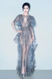Fan BingBing in Iris van Herpen Fall 2017 Couture