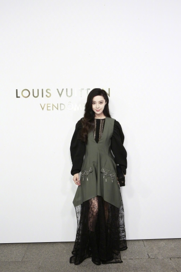 Fan Bingbing in Louis Vuitton Resort 2018-1