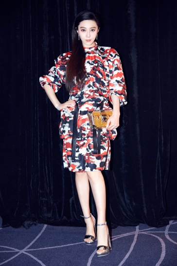 Fan Bingbing in Louis Vuitton Resort 2018-2