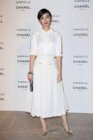 Guey Lun Mei in Chanel Fall 2017