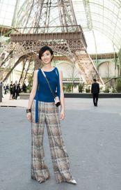 Guey Lun Mei in Chanel Resort 2018