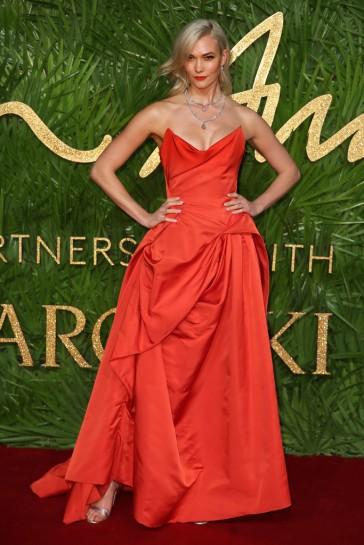 Karlie Kloss in Vivienne Westwood