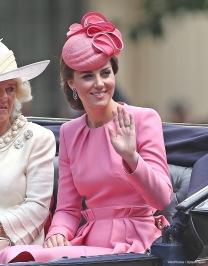 Kate Middleton in Alexander McQueen Fall 2016