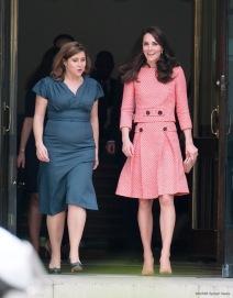 Kate Middleton in Eponine London Spring 2016