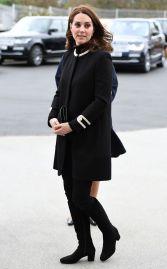 Kate Middleton in Goat Washingon Coat