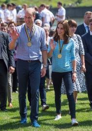 Kate Middleton in Hugo Boss