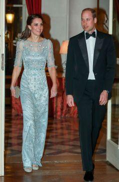 Kate Middleton in Jenny Packham-1