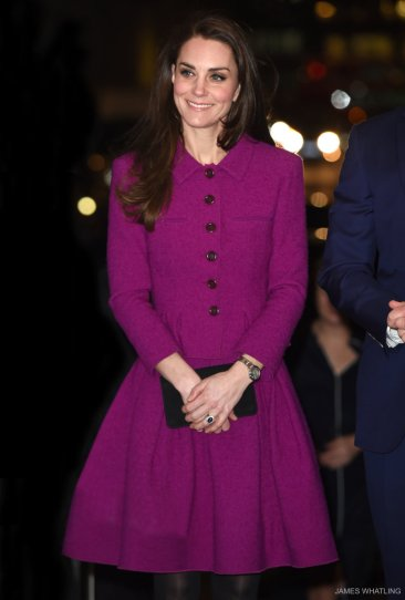 Kate Middleton in Oscar de la Renta Fall 2015