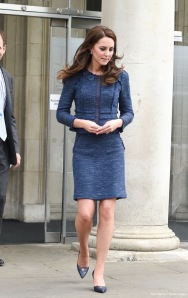 Kate Middleton in Rebecca Taylor