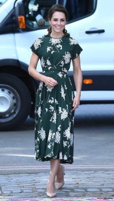 Kate Middleton in Rochas