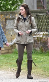 The Duchess Of Cambridge Visits Farms For City Children in Gloucestershire