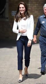Kate Middleton in Zara & J.Crew