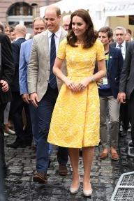 The Duke and Duchess of Cambridge visit Heidlberg