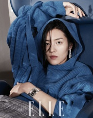 Liu Wen ELLE China January 2018-2