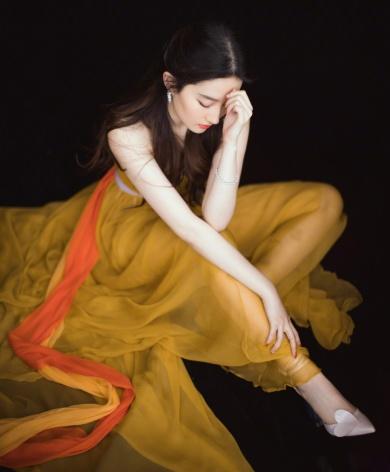 Liu Yufei in Schiaparelli Fall 2017 Couture-2