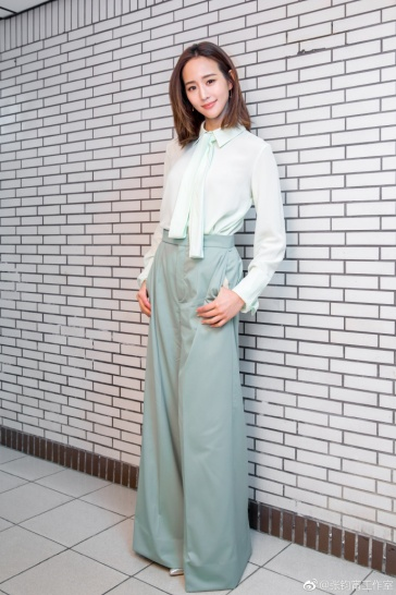 Ning Chang in Chloé Resort 2018