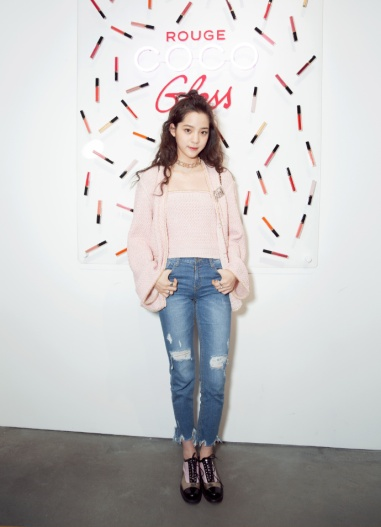 Ou Yang Nana in Chanel-1