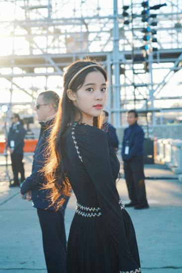 Ou Yang Nana in Chanel Resort 2018-4