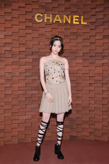 Ou Yang Nana in Chanel Resort 2018