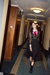 Ou Yang Nana in Gucci