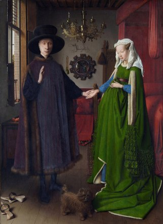Portrait of Arnolfini and his Wife