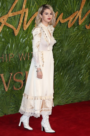 The British Fashion Awards, Arrivals, Royal Albert Hall, London, UK - 04 Dec 2017