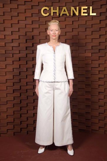 Tilda Swinton in Chanel Spring 2018