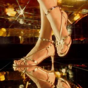 Valentino Rockstud and Lovestud Shoes Campaign-7