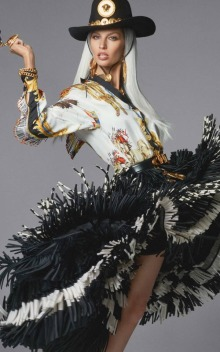 Versace Spring 2018 Campaign-Gisele Bündchen