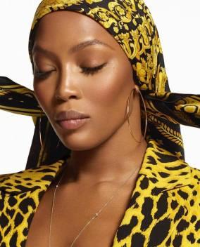 Versace Spring 2018 Campaign-Naomi Campbell-2