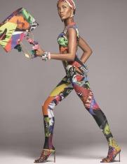 Versace Spring 2018 Campaign-Naomi Campbell