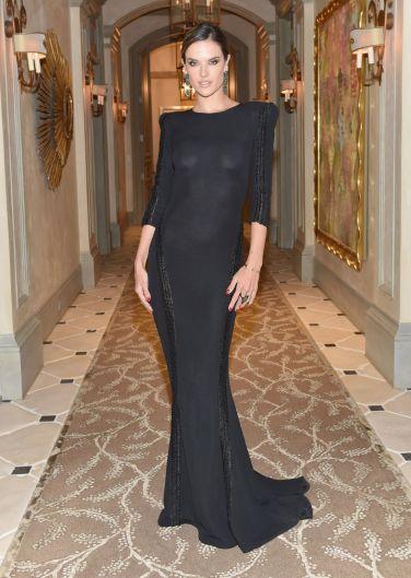 Alessandra Ambrosio in Mario Dice Fall 2015