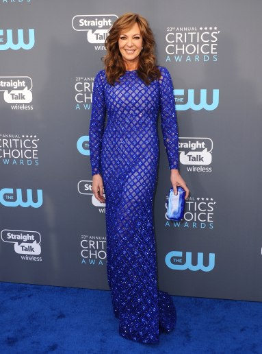 Allison Janney in Michael Conco Fall 2017 Couture