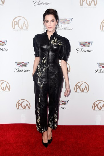 Allison Williams in Ulyana Sergeenko Fall 2014 Couture