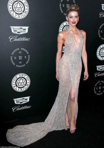 Amber Heard in Georges Hobeika Fall 2017 Couture-2