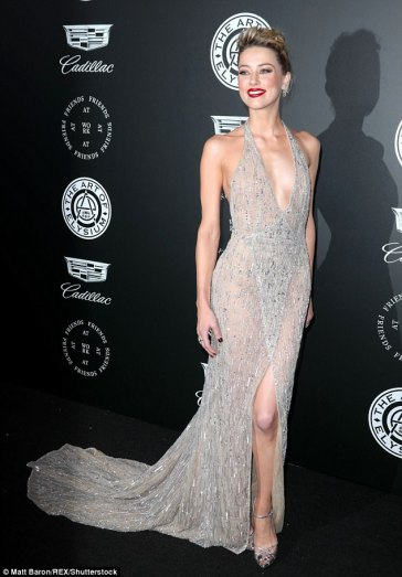 Amber Heard in Georges Hobeika Fall 2017 Couture-7