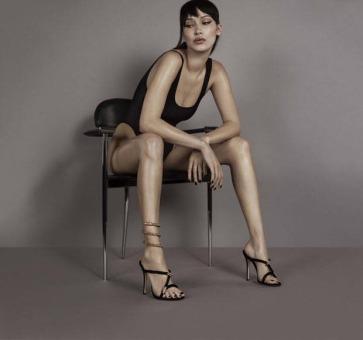 Bella Hadid for Giuseppe Zanotti Spring 2018 Campaign-2