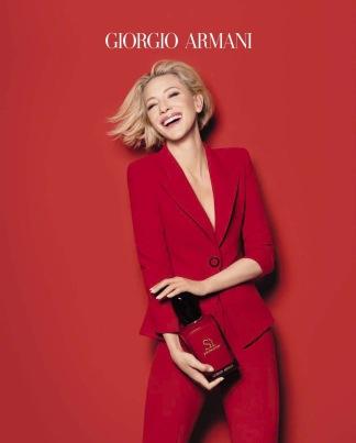 Cate Blanchett for Giorgio Armani Sì Passione Spring 2018 Campaign-2