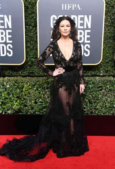 Catherine Zeta-Jones in Zuhair Murad Fall 2017 Couture