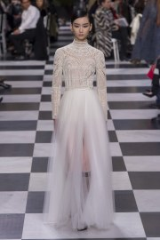 Christian Dior Spring 2018 Couture Look 54