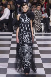 Christian Dior Spring 2018 Couture Look 56