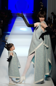 Coco Rocha for Jean Paul Gaultier Spring 2018 Couture-1