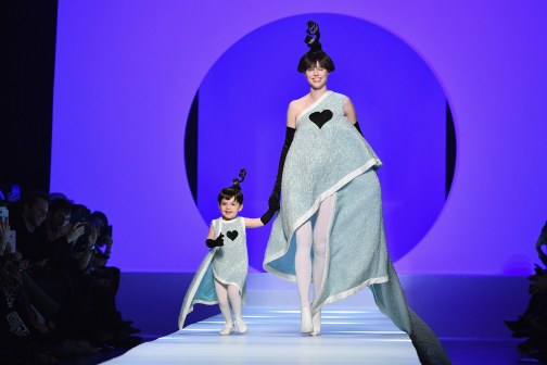 Coco Rocha for Jean Paul Gaultier Spring 2018 Couture