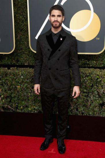 Darren Criss in Giorgio Armani