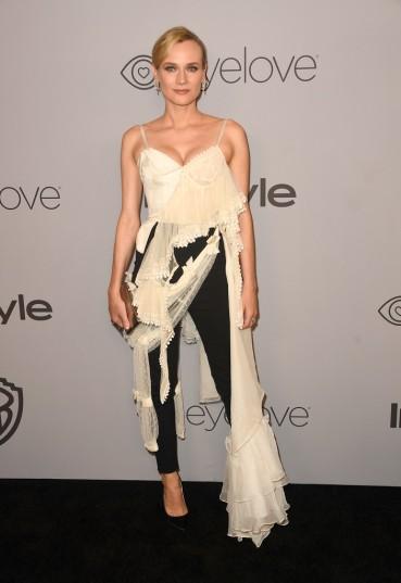 Diane Kruger in Alexander McQueen Spring 2018
