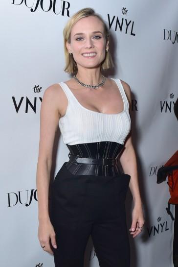 Diane Kruger in Mugler Spring 2018-3