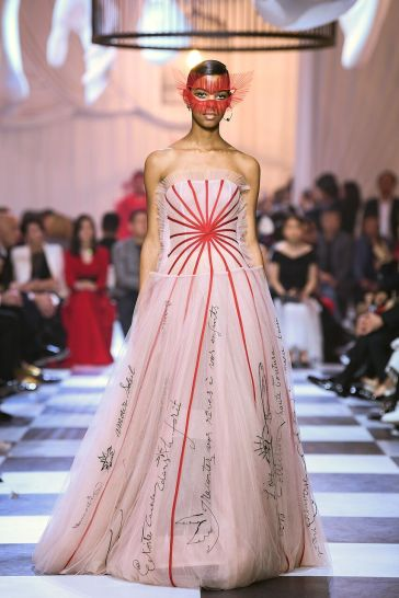 Dior Spring 2018 Couture Shanghai Look 7